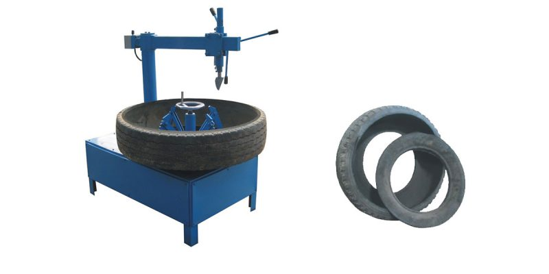 Tire Sidewall Ring Cutter Waste Tire Circle Cutter